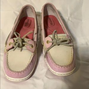 Women's Sperry boat shoes slip on size 7.5